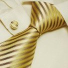 Yellow stripes men in suits and ties gold friends valentines day ... | men's ties | Scoop.it