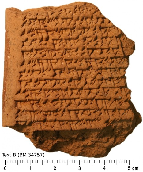 Clay tablets reveal Babylonians discovered astronomical geometry 1,400 years before Europeans | World History | Scoop.it