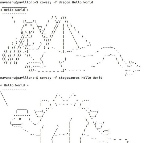 20 Quirky Things You Didn't Know The Linux Terminal Could Do | ASCII Art | Scoop.it