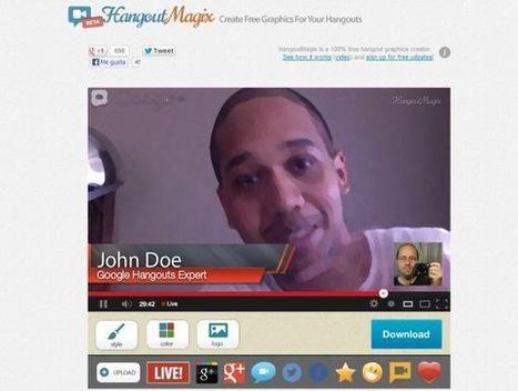 HangoutMagix, crea faldones para tus Hangouts | tecnología y aprendizaje | Scoop.it