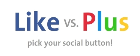 Like vs Plus | SocialNetworks | Scoop.it