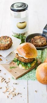 Nouvelle Recette : Veggie Burger au falafel de pois à vache | Épicerie fine | Scoop.it