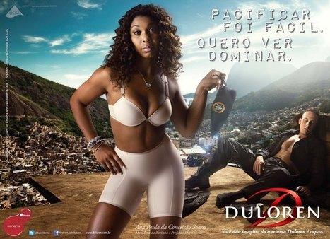 Uma moradora negra da Rocinha virou garota-propaganda. E, pelo visto, isso é um grande problema | Jezebel Brasil | A Propaganda e os negros, mulheres e gays | Scoop.it