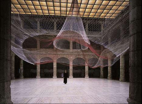 Janet Echelman: Target Swooping II | Art Installations, Sculpture, Contemporary Art | Scoop.it