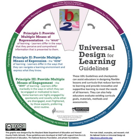 The UDL Wheel for Guideline Exploration | Gabriel Catalano human being | #INperfeccion® a way to find new insight & perspectives | Scoop.it