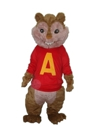 $ 167.29 Long Wool Squirrel  Plush Adult Mascot Costume | wedding and event | Scoop.it