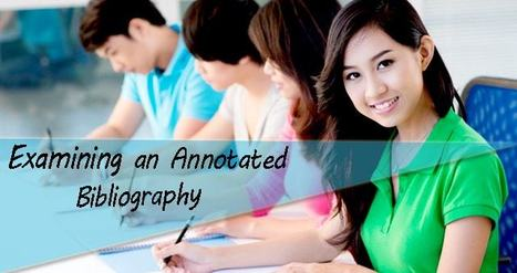 Examining an Annotated Bibliography | About Dissertation | Scoop.it