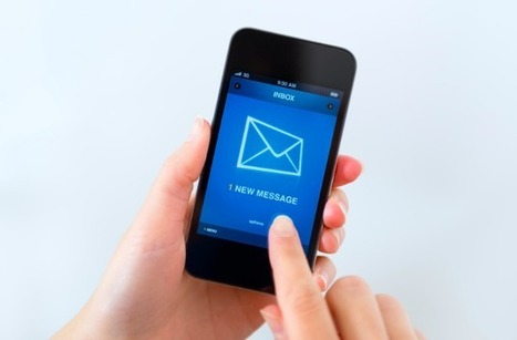 65% des e-mails d'abord ouverts sur mobile | In... | Inbound Marketing | Scoop.it