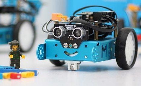 Mbot-Blue : un Robot éducatif et programmable en version 2.4 G très intéressant. - Le garage du PC | Freewares | Scoop.it