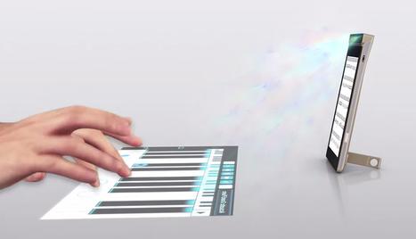 Se larga la carrera Smartphones proyectores y teclados láser virtuales. | Tecnología 2015 | Scoop.it