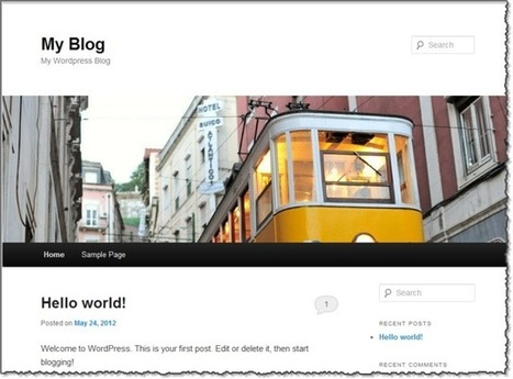How to Setup a Wordpress Blog in 5 Minutes | The Social Media Learning Lab | Scoop.it