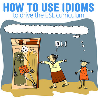 "Is He ""Mad About"" or ""Mad At"" Me? How to Use Idioms to Drive the ESL Curriculum 