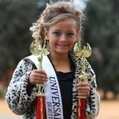 Six-year-old American beauty queen draws protests and US$77,000 payday | Child Studies | Scoop.it