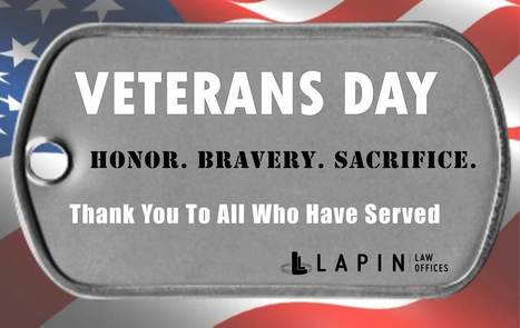 Veterans Day 2015 | Lapin Law Offices | Scoop.it