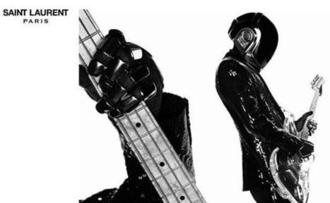 Saint Laurent imprime sa marque sur Daft Punk | Daft Punk France Columbia | Scoop.it