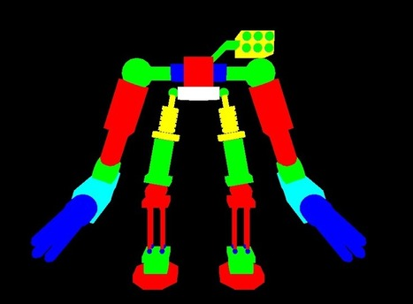 OpenGL Projects: 3D animated robot opengl mini projects | opengl projects | Scoop.it
