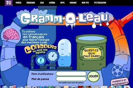 Gramm-O-L'eau : réviser la grammaire française en s'amusant | TICE & FLE | Scoop.it