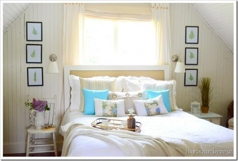 $6 Master Bedroom Makeover & Headboard Tutorial - Remodelaholic | Bedroom Decor | Scoop.it