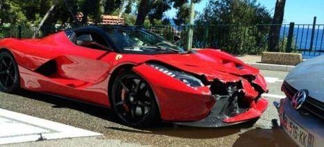 Crash Ferrari LaFerrari : les photos de l'accident   L'actu auto insolite   Scoop.it