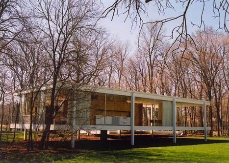 [Mies van der Rohe, Philip Johnson & ... Zaha Hadid ] Kosmograd: Glass houses   The Architecture of the City   Scoop.it