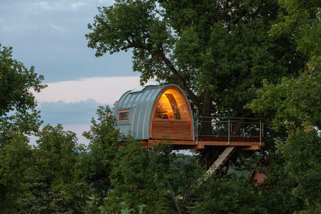 12 Micro-Dwelling Treehouses | Stash and Dash | Scoop.it