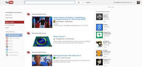 YouTube Redesigned, Still a BitTorrent Site if You Dig Deep | Search Engine Optimization Delhi | Scoop.it