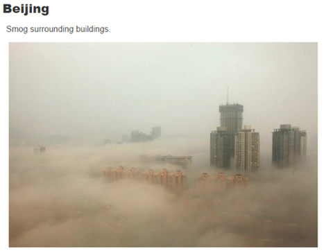 "Shocking Photos Reveal How Bad Pollution in China Has Gotten (""is this city smog or a sandstorm?"") 