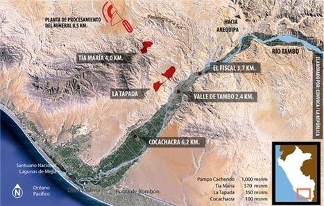 Tía María : le mégaprojet minier qui déchire le Pérou | Communication à l'ère du numérique | Scoop.it