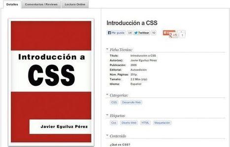 Introducción a CSS, ebook gratuito para aprender el lenguaje CSS - Lukor | Programacion | Scoop.it