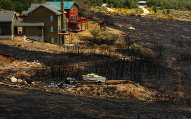 Landscaping has saved Utahns' homes from wildfire | Water Conservation for Lawn and Landscape | Scoop.it
