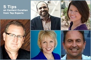 5 Tips on Content Curation from Top Social Media Experts | Curation & The Future of Publishing | Scoop.it