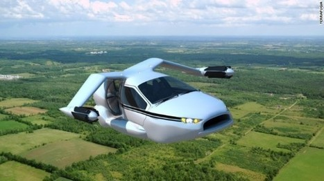 Flying cars are now a reality - set to launch in 2015 | Virtual Cluster Initiative | Scoop.it
