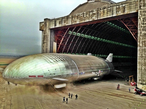 Le zeppelin peut-il renaître de ses cendres ? | Changeons d'époque... | Scoop.it