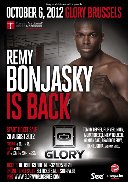 Glory World Series: GLORY 2 results and LIVE fight coverage for 'Brussels' event on Oct. 6 | Renzo Gracie academy MMA, Jiu Jitsu, Muay Thai in Brooklyn, NY | Scoop.it