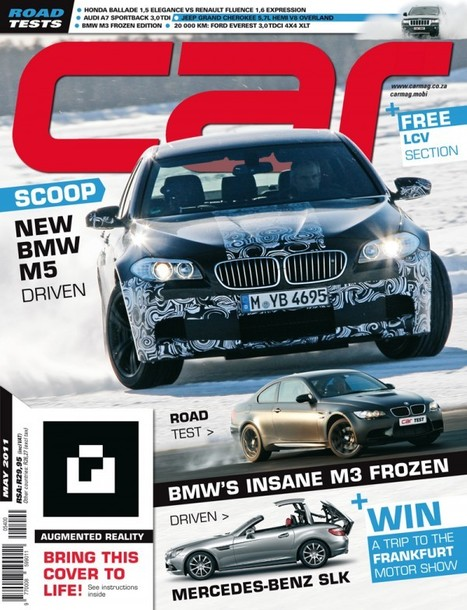 Car magazine this month with an augmented reality cover | Cherryflava | Augmented Reality News and Trends | Scoop.it