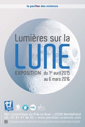Lumières sur la Lune : Samedi 16 janvier 2016, de 16 à 22 h, Pavillon des Sciences | INFOS CULTURELLES | Scoop.it