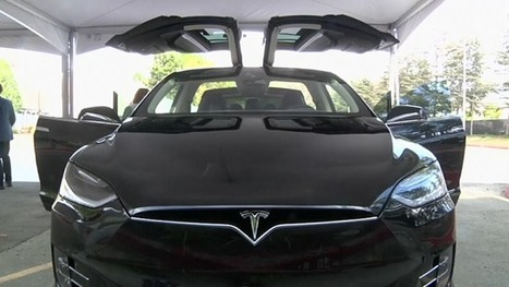 Tesla Motors unveil all-electric SUV - video | Technological Sparks | Scoop.it