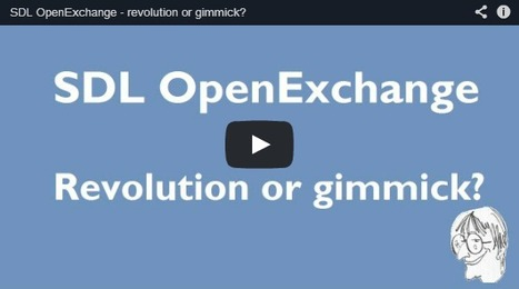 (CAT)-(VIDEO) - SDL OpenExchange – revolution or gimmick? | CATguru's vlog | Glossarissimo! | Scoop.it