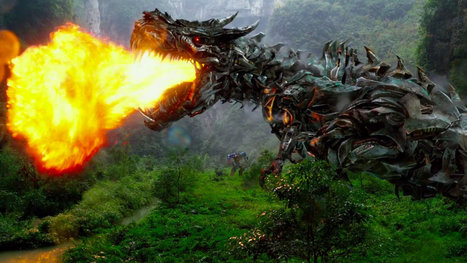 New 'Transformers' trailer reminds Godzilla there's another monster movie coming | HobbieScoop.it | Scoop.it