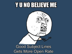 Why Good Subject Lines Increase Open Rate? | Best Practices For Email Marketing And Affiliate Marketing | Scoop.it