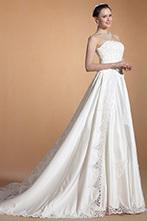 [EUR 209,99] Carlyna 2014 Nouveauté Chic Sans Bretelle A-line Robe de Mariée(C37144707) | robe de mariée, robe de soirée | Scoop.it