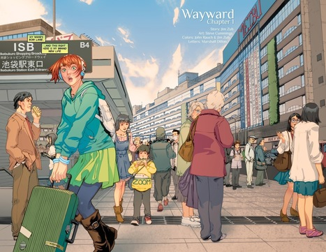 When A Setting Becomes A Character: Exploring Tokyo In Wayward - Comicbook.com | Literature & Psychology | Scoop.it