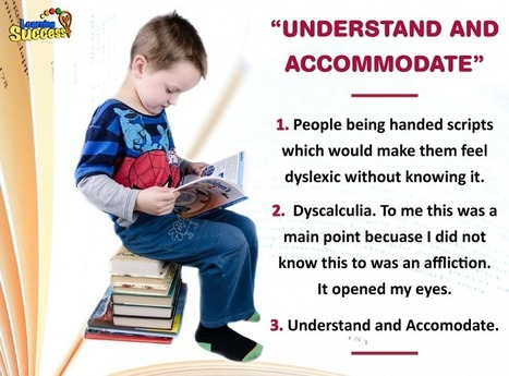 What's It Like to be Dyslexic? | learning differences | Scoop.it