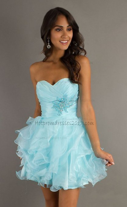 Short Beaded Ruffled Layers Strapless Prom Dress 2013 for Cheap [Short Strapless Prom Dress 2013] - $149.00 : Discount Dresses for Prom 2013,Up 50% Off   fashion   Scoop.it