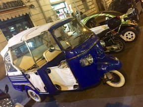 Tweet from @toddjacobus | Calessino Parade - collectable Italian style on three wheels | Scoop.it