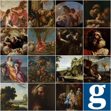 Italian baroque paintings gifted to the UK – in pictures | TheGuardian.co.uk | Chiaroscuro | Scoop.it