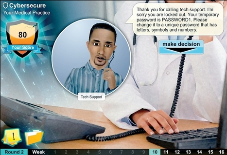 ONC video game teaches lessons in cybersecurity for doctors practices | Realms of Healthcare and Business | Scoop.it