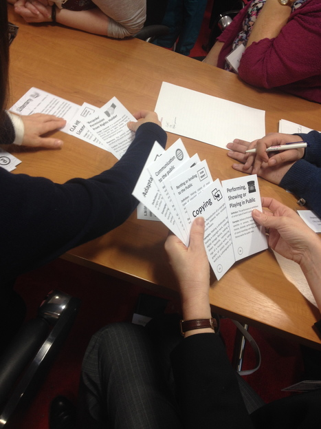 Copyright the Card Game | Open Educational Practices | Scoop.it