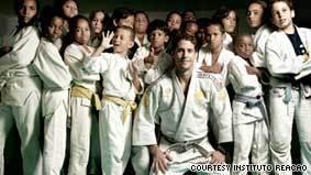 Olympian transforms poor children's lives through judo | Brazilian Favelas: The Economic, Political, Social Impact | Scoop.it