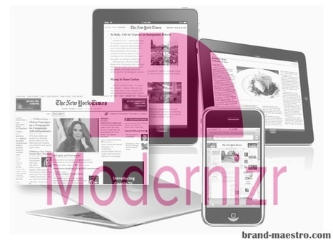 Is Modernizr the Apt Choice for Crafting Responsive Web Design? | Latest Tips on Web Design & Development | Scoop.it